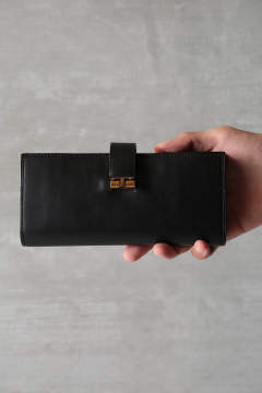 "LONG WALLET""LAYTON""(BLACK)"