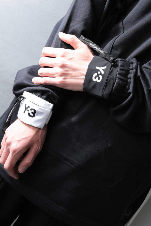 Y-3 MINI WRIST(WHITE/BLACK)