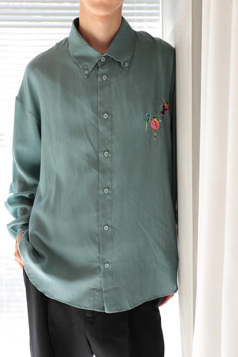 BUTTON DOWN SHIRT(MINT)