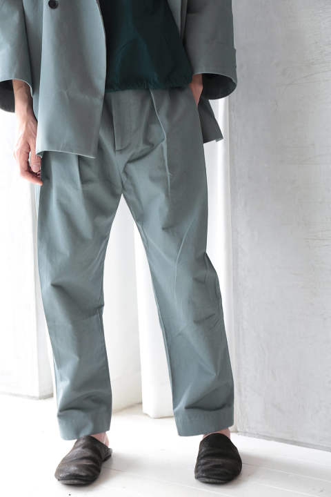 【ラスト1点】WEEKNIGHT TROUSER(BLUE GREY)