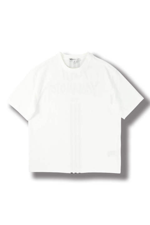 M SIGNATURE GRAPHIC SS TEE(CORE WHITE)