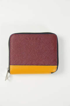 SHORT ZIP WALLET(RUBY/PUMPKIN/BLUETTE)