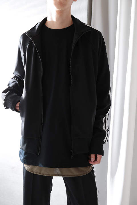 【ラスト1点】M 3STP TRACK JACKET(BLACK)