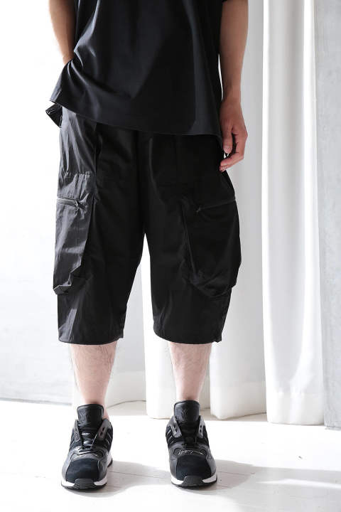 M TECH COTTON SHORT(BLACK)