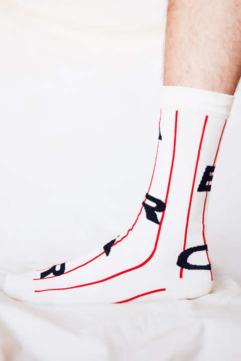 【ラスト1点】AERO SOCKS(WHITE AIR)