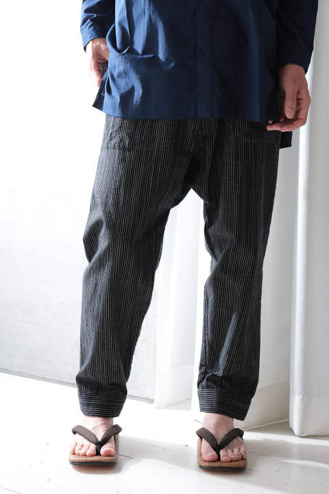 【ラスト1点】TROUSERS#50(BLACK STRIPE)