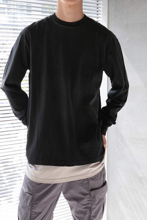 【ラスト1点】LS UNIVERSITY TEE SUNDRENCHED(BLACK)