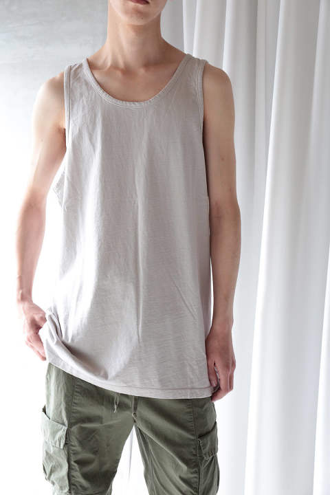 【19SS】RUGBY TANK(CEMENT)