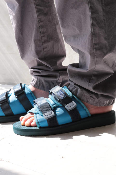 【JOHN  ELLIOTT×SUICOKE】SANDALS(BLUE×BLUE)