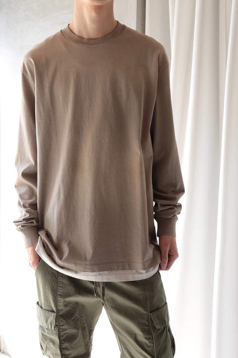 LS UNIVERSITY TEE SUNDRENCHED(TAUPE)