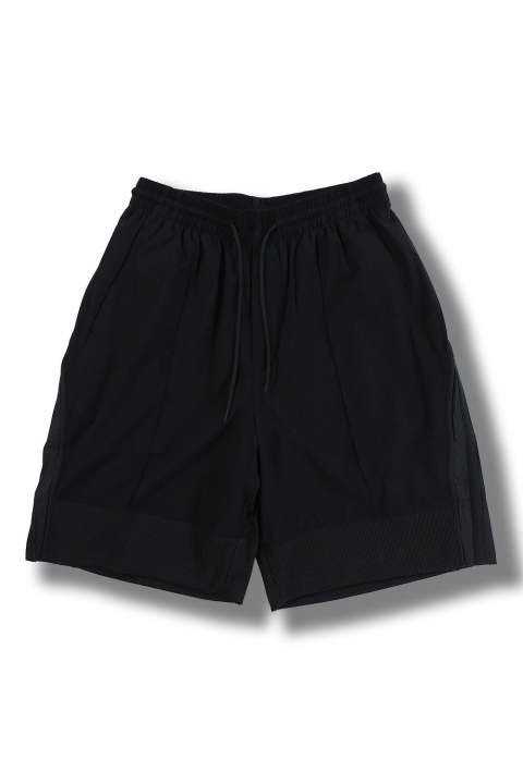 M 3STP LIGHT NYLON MAT MIX SHORTS(BLACK)