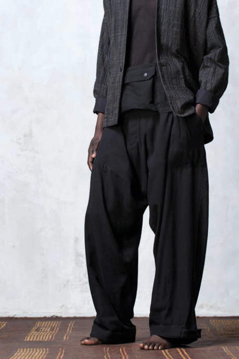 【ラスト1点】TROUSERS#51(BLACK)