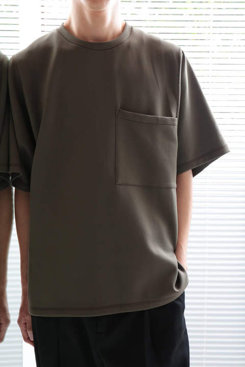 【ラスト1点】BIG POCKET T-SHIRT(KHAKI)