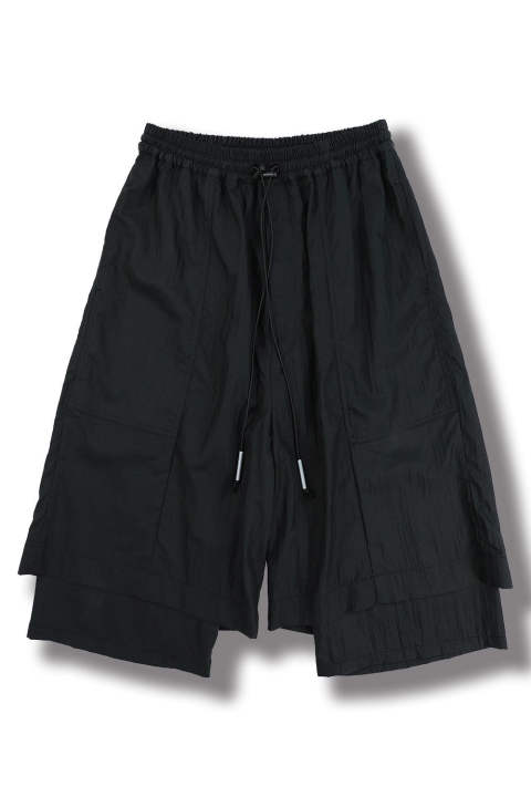 LAYERED PANTS(BLACK)