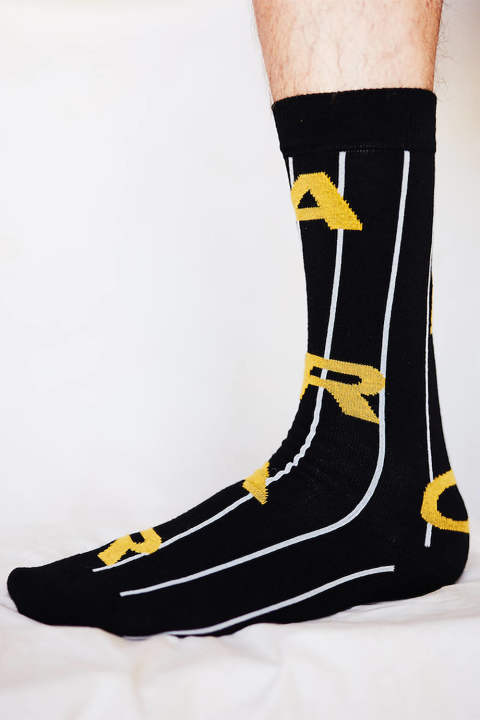 AERO SOCKS(BLACK AIR)