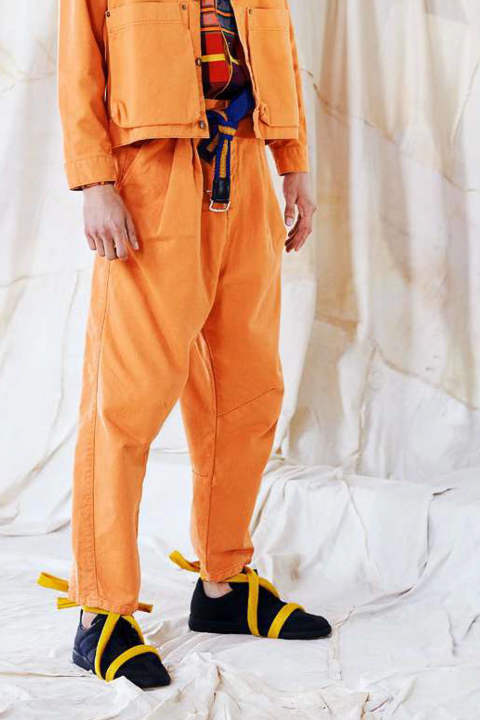 GUSH TWILL PANTS(BURNT ORANGE)