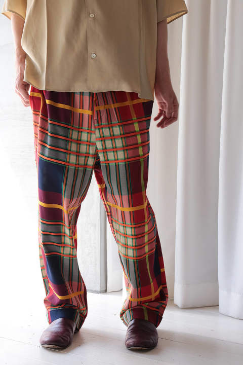 SPYJAMA PANTS(MULTI COLOR CHECK)