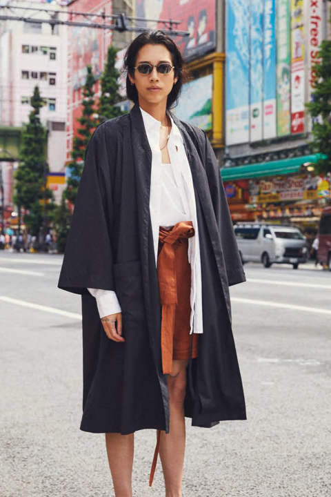 2-WAY COAT(BLACK)