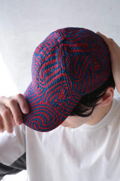 STORMY SEA CAP(RED BLUE STORM)