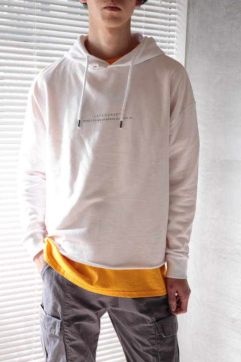 TRANSFORMATION HOODIE(WHITE)