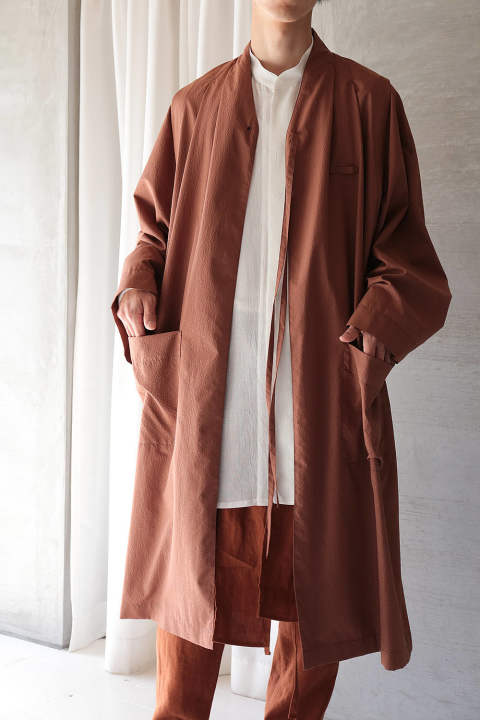 【ラスト1点】2-WAY COAT(ORANGE)