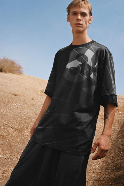 M 3 AOP FOOTBALL SHIRT(PARACHUTE BLACK AOP)