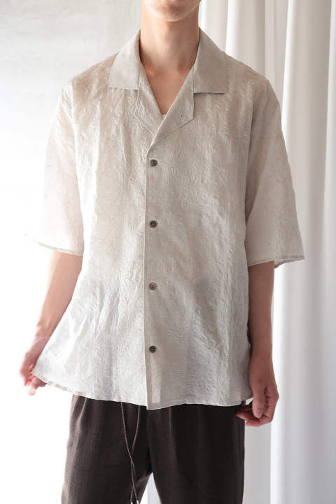 OPEN COLLAR SS SHIRTS(DREAM CATCHER/EH38SH-02A)
