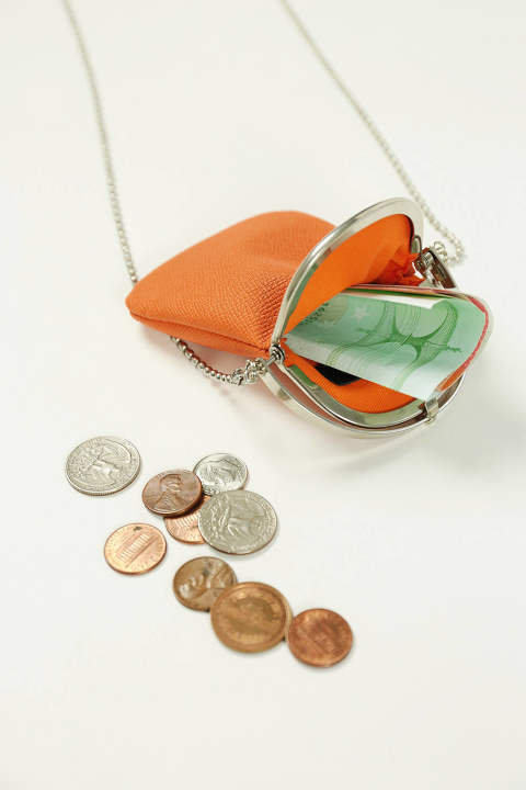 【ラスト1点】CHAIN PURSE(ORANGE)