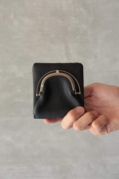【20AW】WEINHEIMER COW HALF WALLET(BLACK)