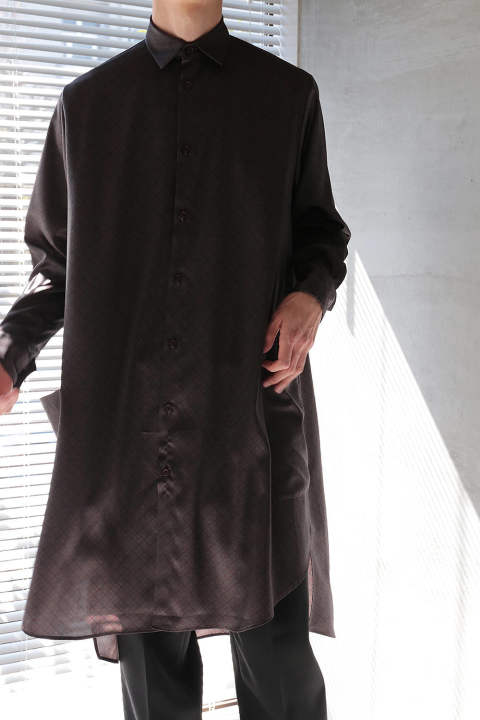 LONG SHIRT(BORDEAUX)