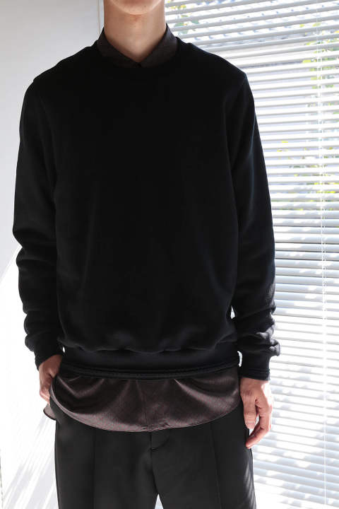 【ラスト1点】CREW SWEAT(BLACK)
