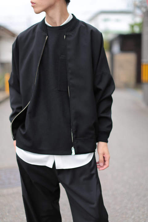 BALLOON BLOUSON(BLACK)