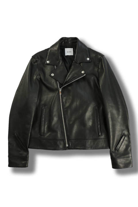 LEATHER JACKET(BLACK)