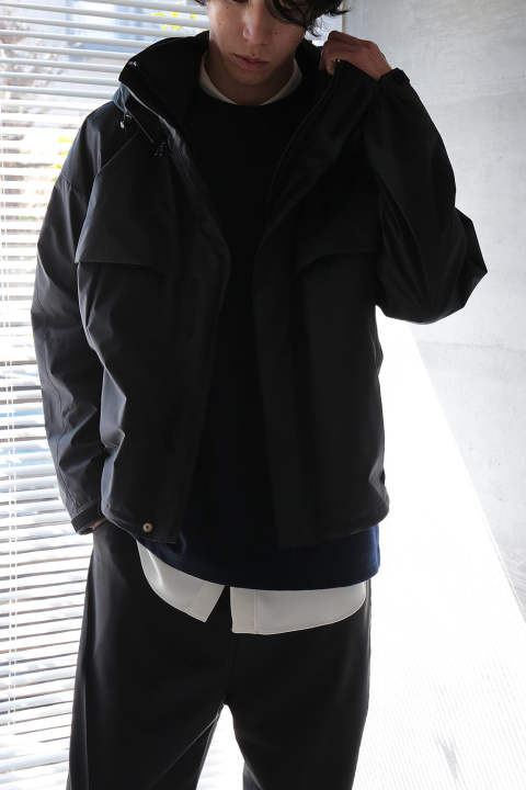 MOUNTAIN BLOUSON(BLACK)