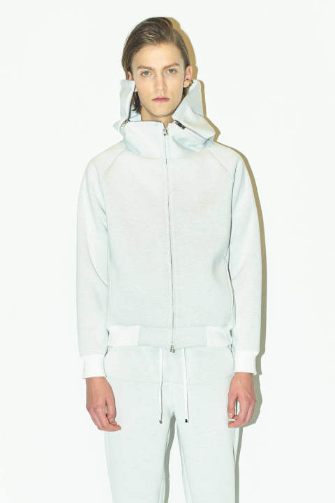 【ラスト1点】ZIP UP BLOUSON(WHITE)