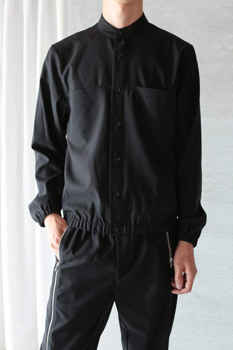【ラスト1点】BLOUSON SHIRT(BLACK)