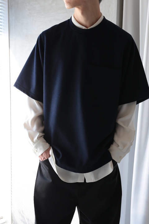 【ラスト1点】BIG POCKET T-SHIRT(NAVY)
