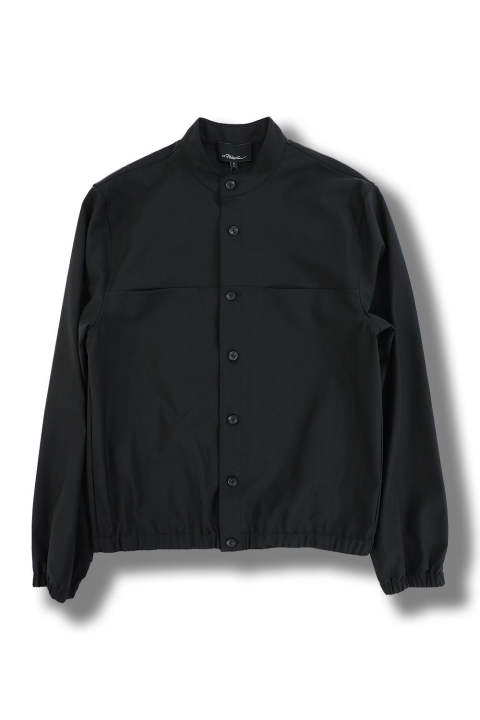 BLOUSON SHIRT(BLACK)