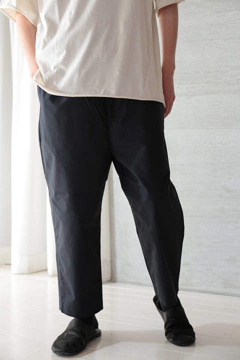 【ラスト1点】ANCIENT MYTHIC COTTON OBI PANTS(BLACK)