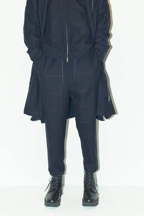 【ラスト1点】EASY PANTS(NAVY)