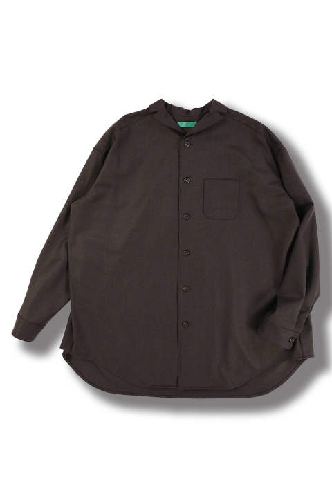 dark brown wide shirts