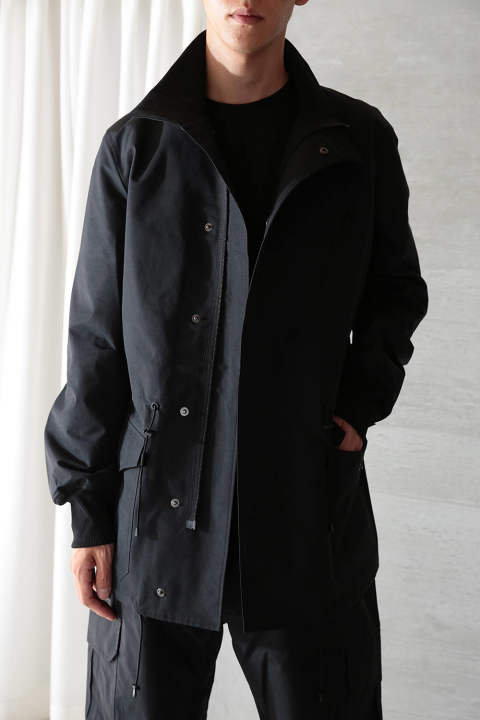 【ラスト1点】M NYLON FIELD JACKET(BLACK)