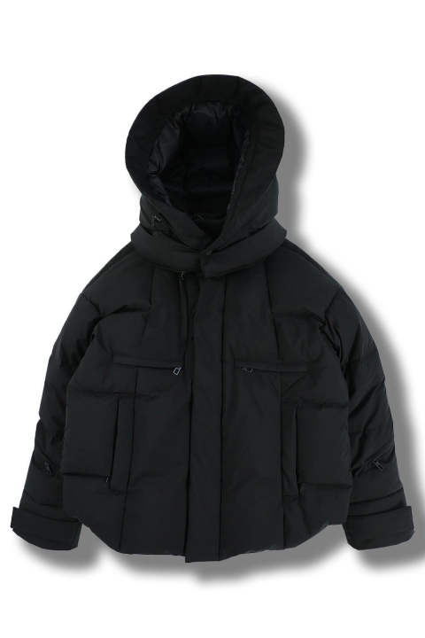 DOWN JACKET - MIDDLE -(BLACK)