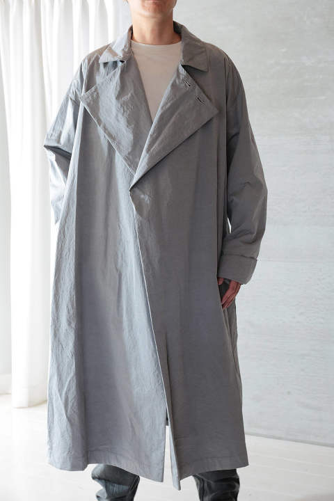 【ラスト1点】GOLD AND SILVER LIGHT WORK COAT(SILVER)