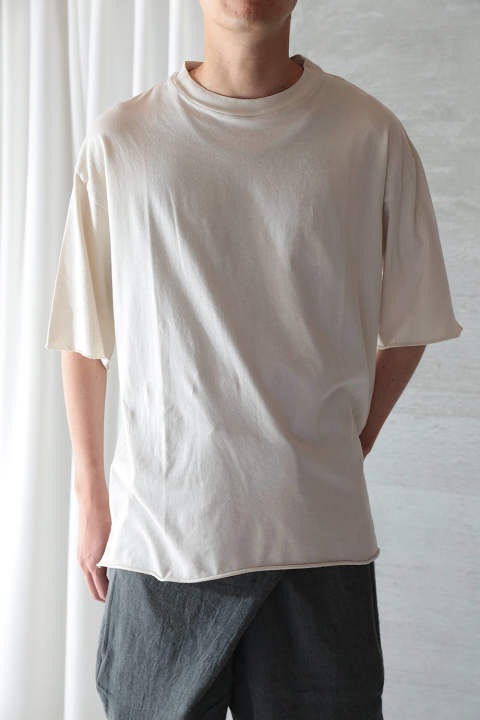 ORGANIC COTTON T-SHIRT(ANCIENT WHITE)