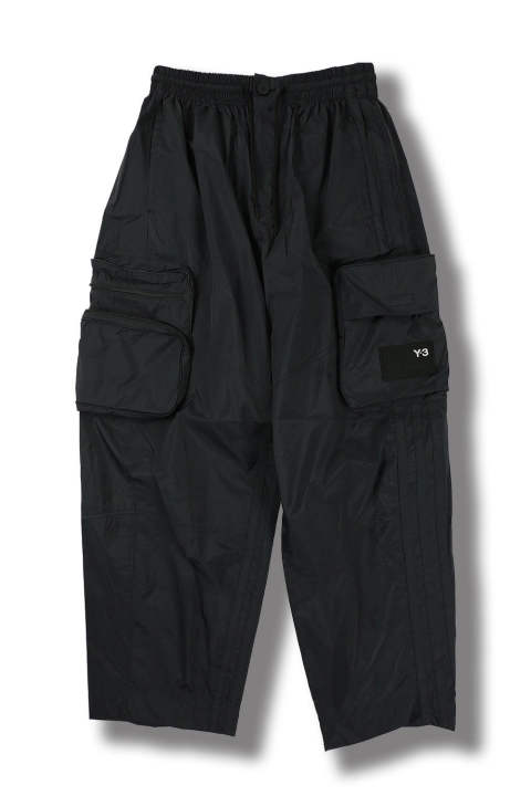 U SHELL TRACK PANTS(BLACK)