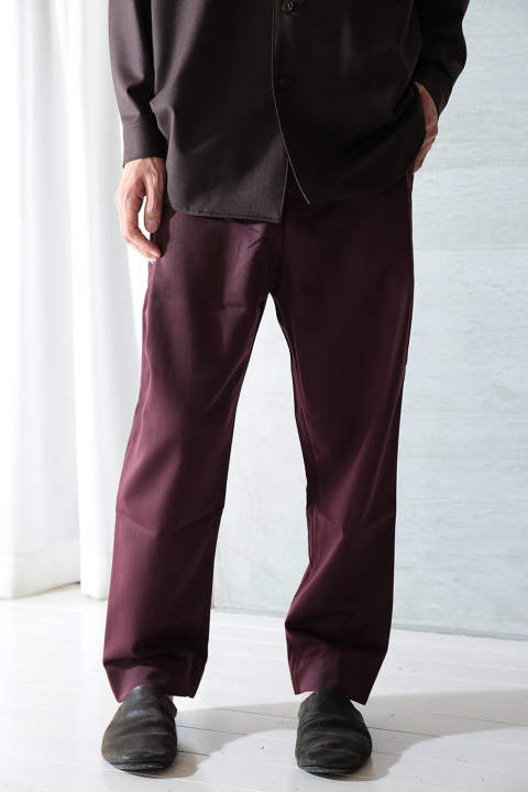 IN OUT TROUSER(MULBERRY MAROON)