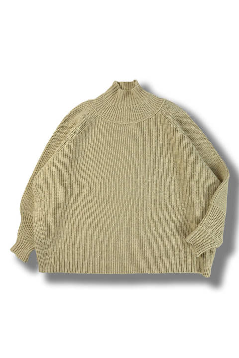 KNIT#47 (NATURAL MERICHAN)