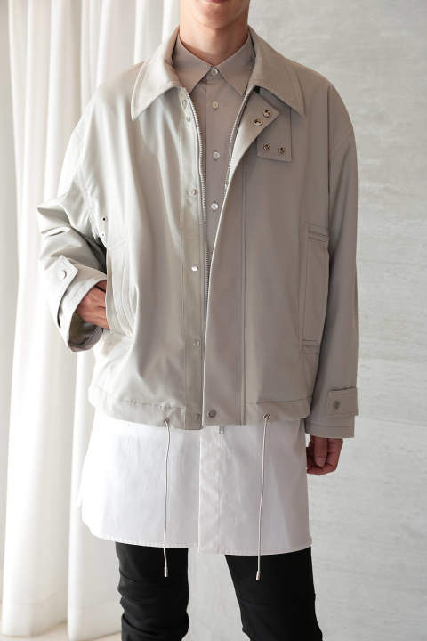 【ラスト1点】UTILITY  BLOUSON(LIGHT GRAY)