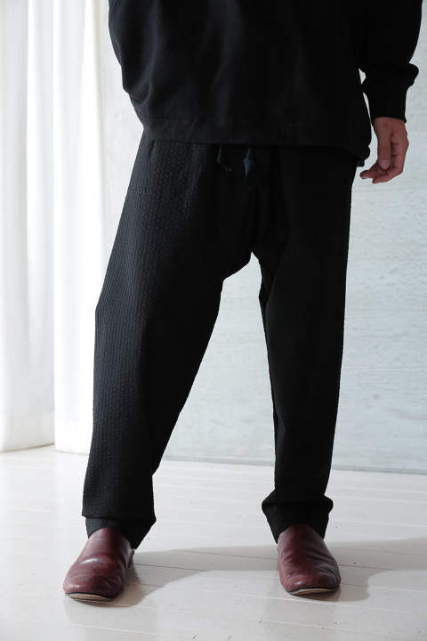 TROUSERS#52(BLACK)